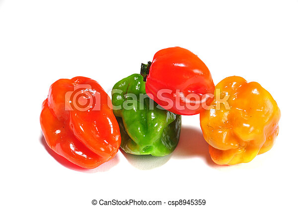 the real hot chilli peppers from mexico - csp8945359