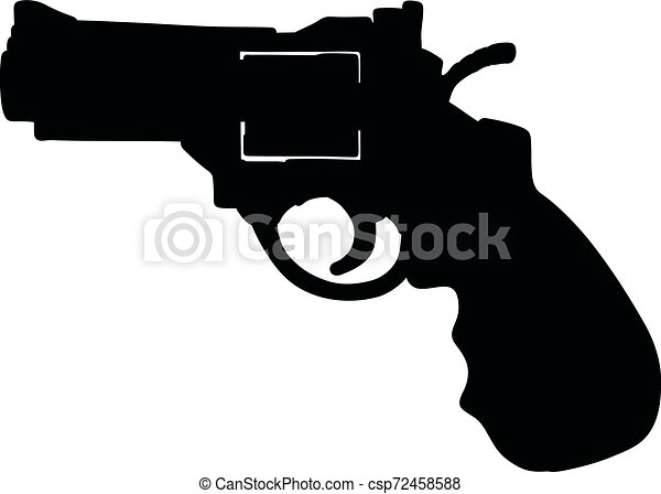 The recent short revolver - csp72458588