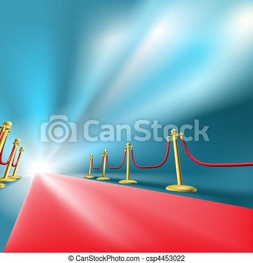 the red carpet - csp4453022