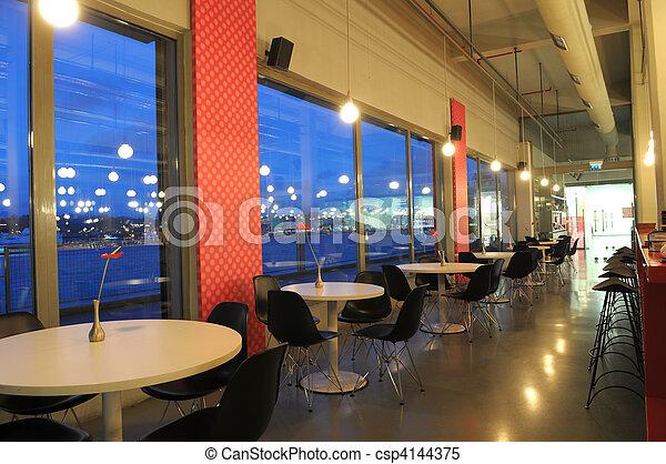 The restaurant - csp4144375