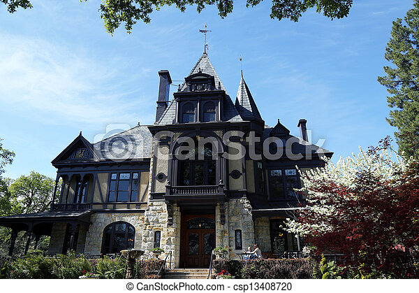 The Rhine house at Beringer winery - csp13408720