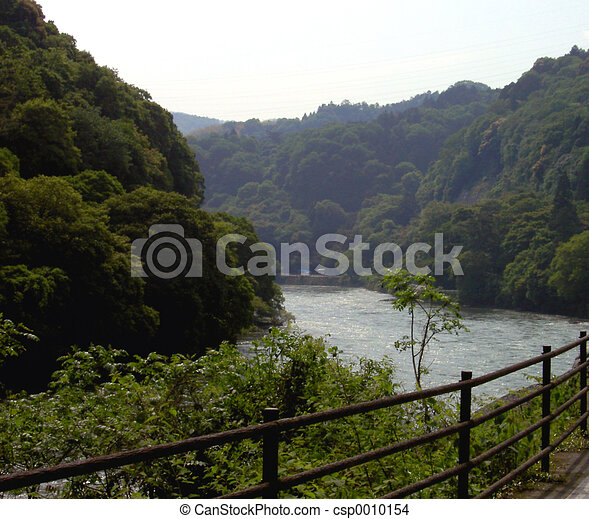 The river - csp0010154