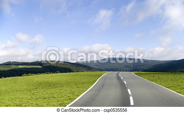 The road ahead - csp0535556
