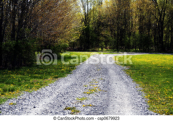 The Road Less Traveled - csp0679923