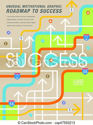 The road to success is mapped out i - csp47593213