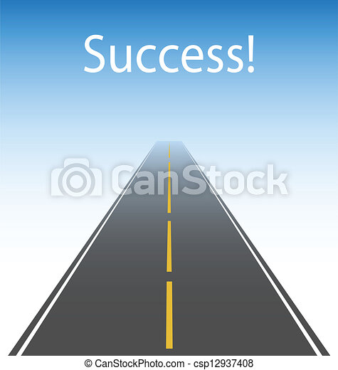 The road to success - csp12937408