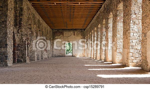 The Ruins of Krzyztopor Castle in Ujazd, southern Poland - csp15289791