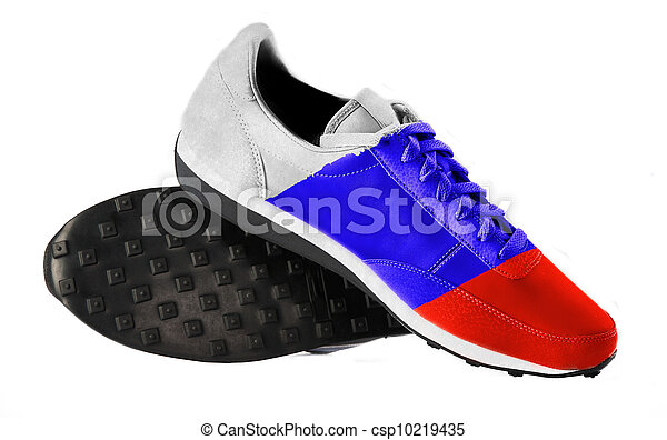 The Russian flag - csp10219435