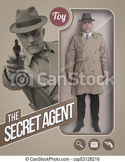 The secret agent realistic doll - csp53128216