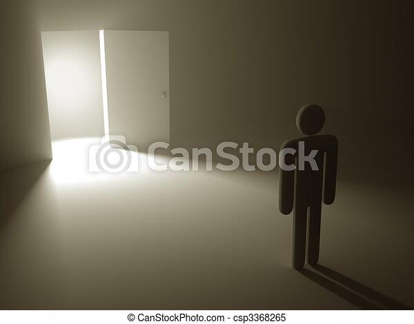 The Secret Door To Success - csp3368265