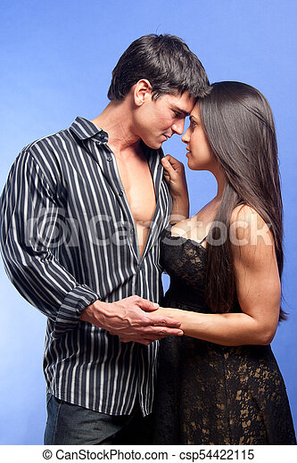 All logical Hot sexy couple kissing