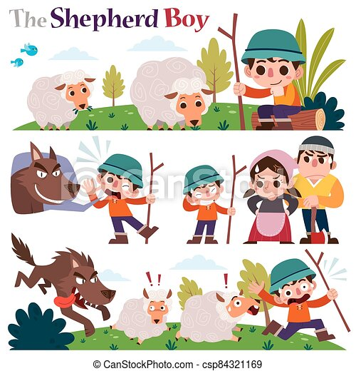 The Shepherd boy - csp84321169
