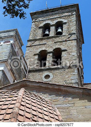 the shrine of St. Margaret of Cortona - csp9207677