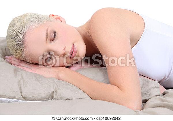 The sleeping beauty - csp10892842