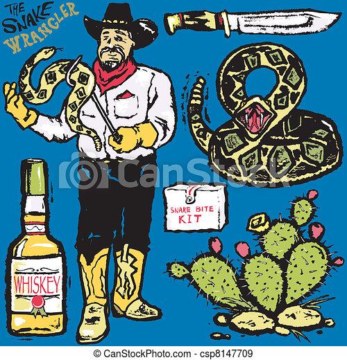 The Snake Wrangler - csp8147709