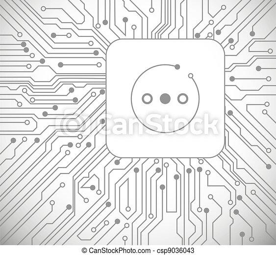 The socket - csp9036043
