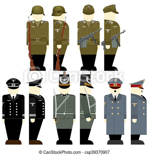 The Soldiers Of The Wehrmacht Times The 2nd World War 1 Uniforms