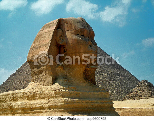 The Sphinx of Egypt - csp9600798