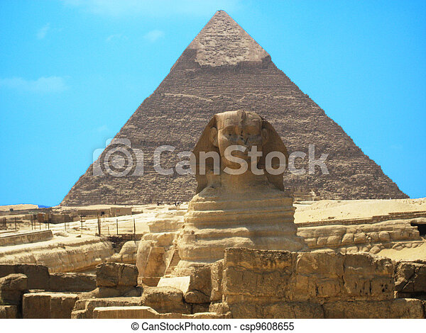 The Sphinx of Egypt - csp9608655
