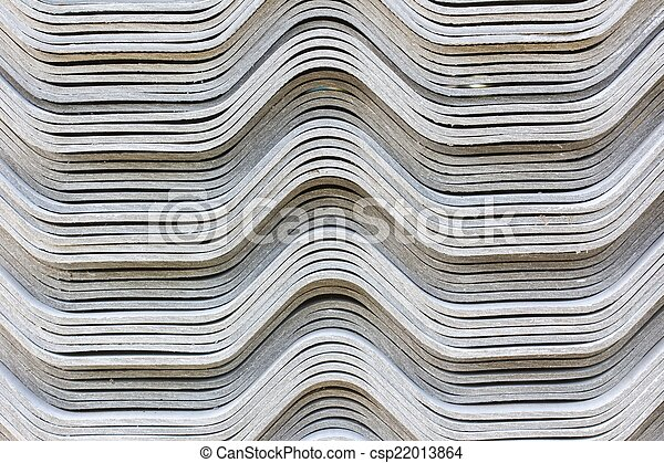 The stack of gypsum board preparing for construction, background - csp22013864