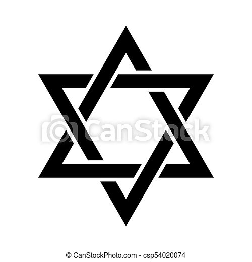 the star of david or the shield of david magen david vectors rh canstockphoto co uk star of david images clip art star of david clip art free