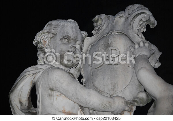 The statue of angels - csp22103425