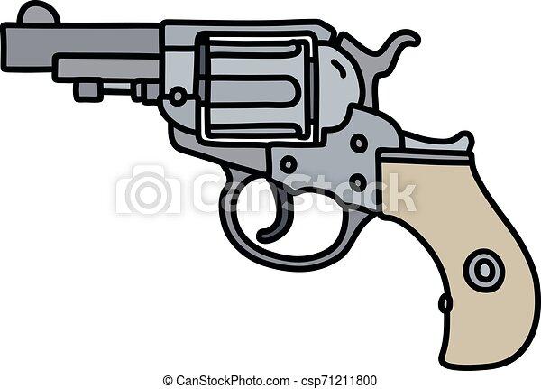 The steel short revolver - csp71211800