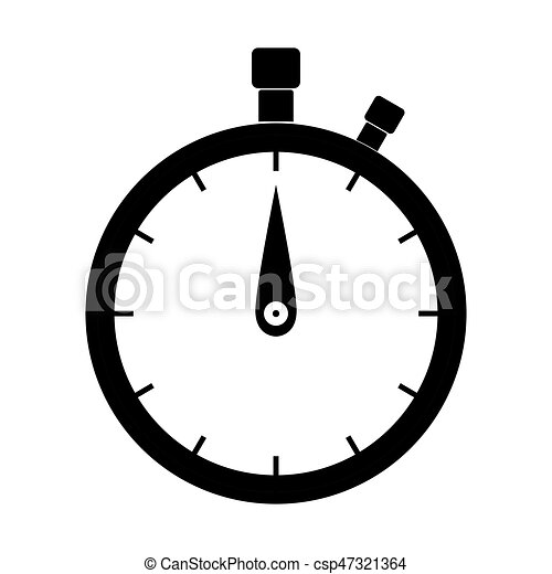 the stopwatch black color icon the stopwatch it is black clip rh canstockphoto com stopwatch clipart transparent stopwatch clipart png