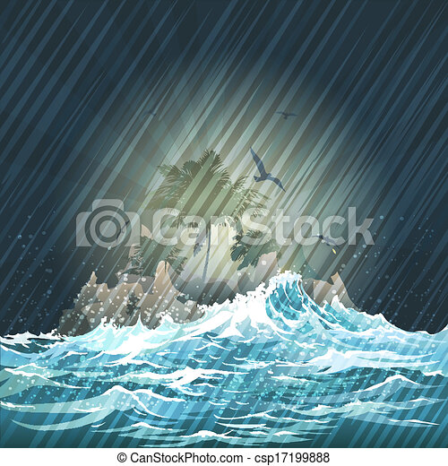 The Storm - csp17199888