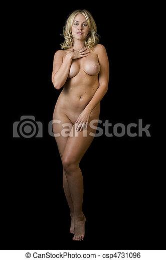 Seductive nude strips