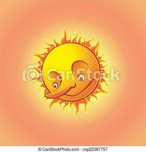 The sun - csp22387757