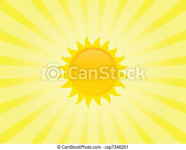 The sun - csp7346251