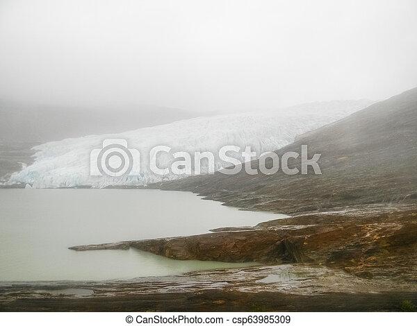 The Svartisen Glacier, Norway - csp63985309