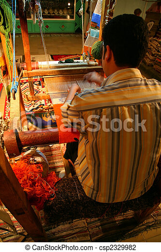 The tailor at work - csp2329982