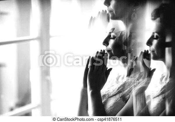 The tenderness bride - csp41876511