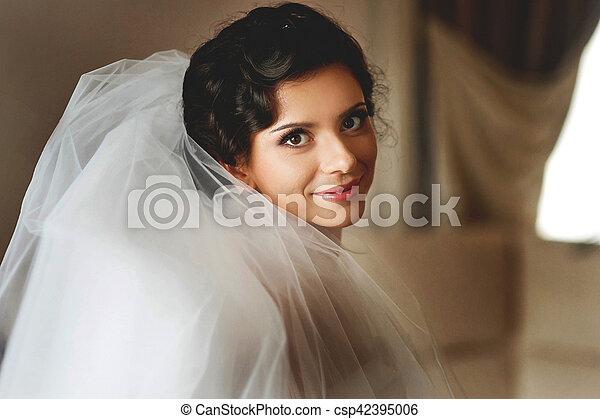 The tenderness bride - csp42395006