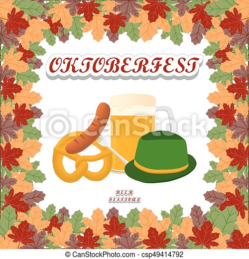 The theme Oktoberfest - csp49414792