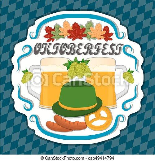 The theme Oktoberfest - csp49414794