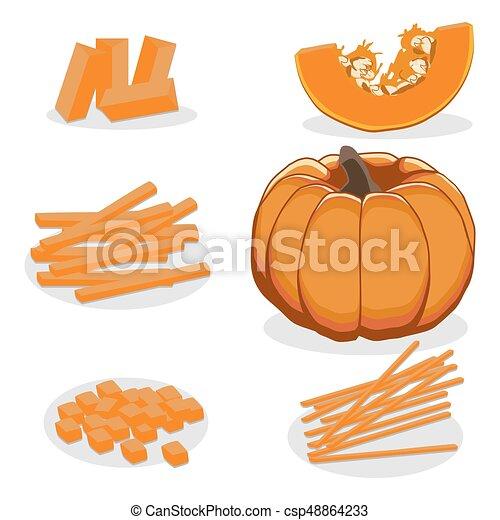 The theme pumpkin - csp48864233