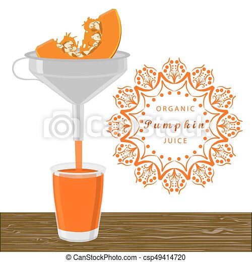 The theme pumpkin - csp49414720