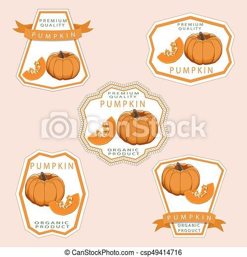 The theme pumpkin - csp49414716