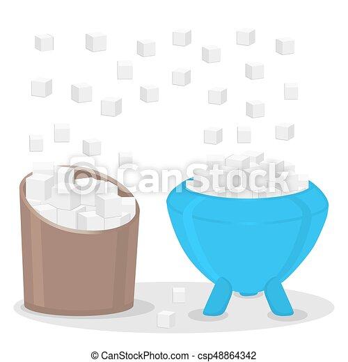 The theme sugar - csp48864342