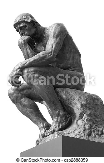 The Thinker - csp2888359