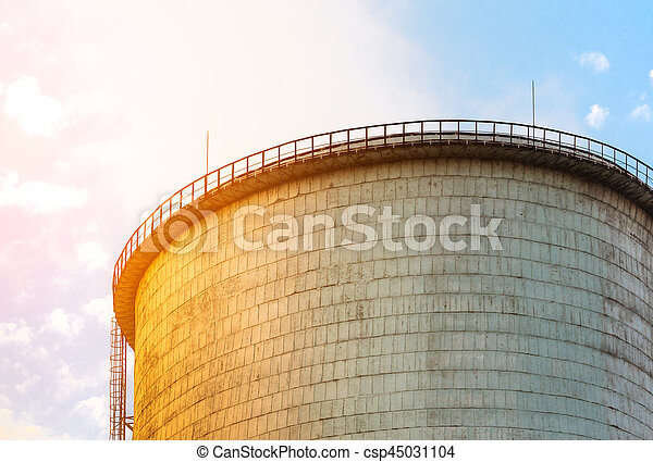 The top of cooling tower - csp45031104