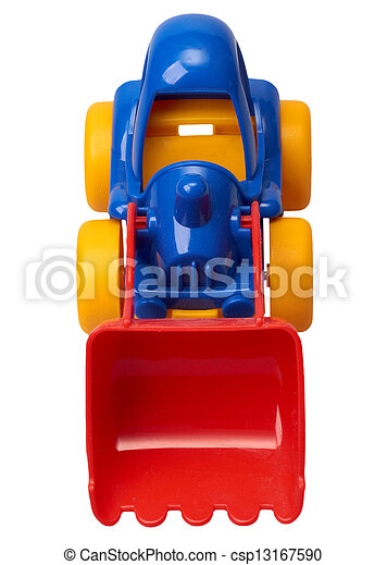 The toy tractor - csp13167590