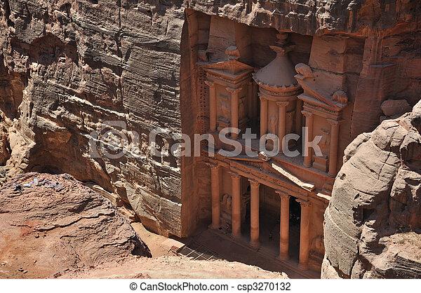 The Treasury at Petra - csp3270132