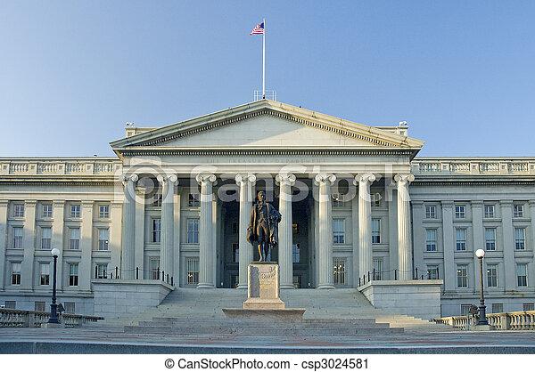 The Treasury Department - csp3024581