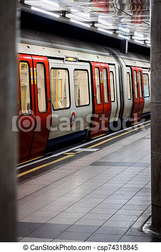The Tube of London - csp74318845