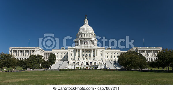 The US Capitol - csp7887211
