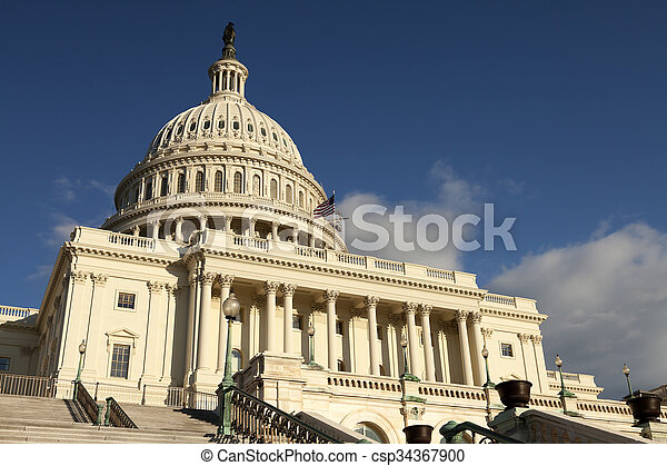 The US Capitol - csp34367900